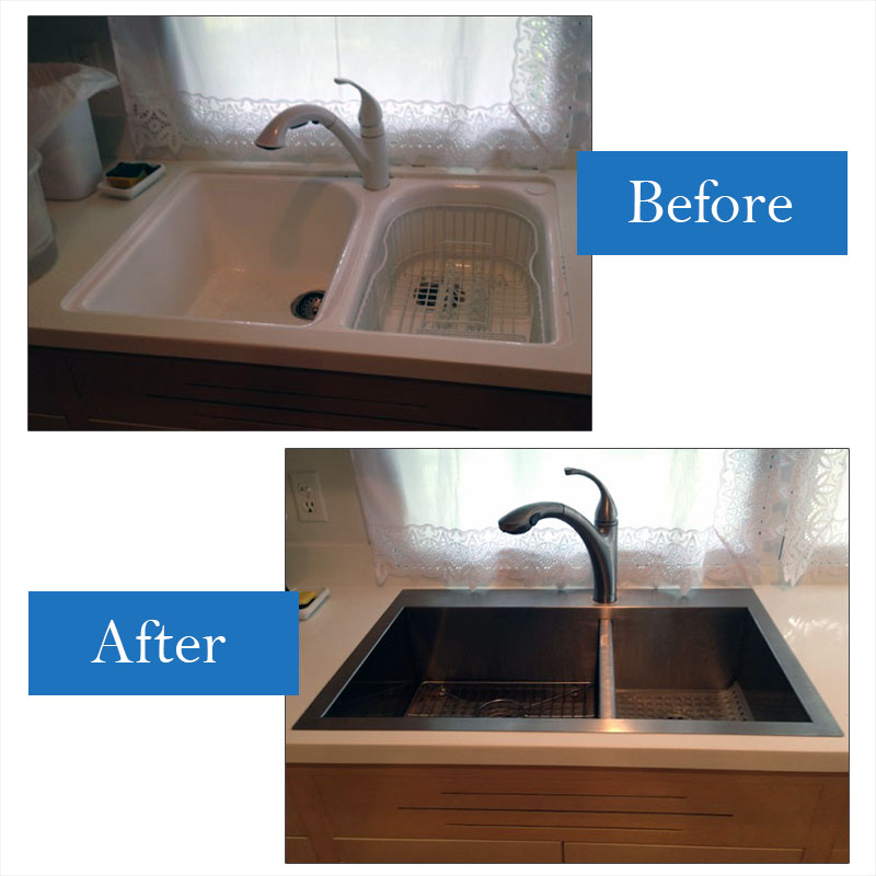 sink kitchen 22x33 hd supply